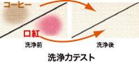 オゾンの洗浄テスト